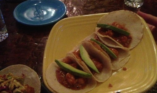 Best Mexican Restaurants in NYC - Mercadito (shrimp tacos)