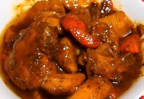 Filipino Chicken Curry Recipe - Step 5 (enjoy!!)
