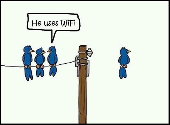 Funny Wifi tech