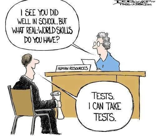College Job Seekers Funny