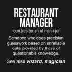 Best Restaurant Manager - The Restaurant Zone
