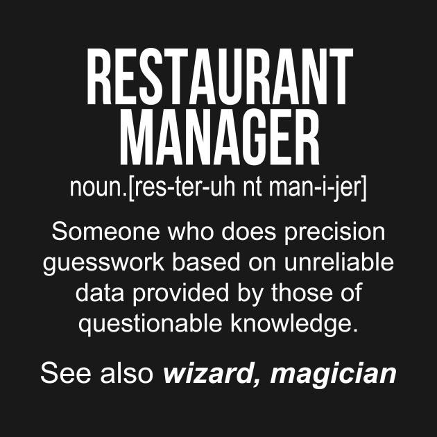 Best Restaurant Manager - The Restaurant Zone